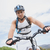 athletic young man mountain biking stock photo © wavebreak_media