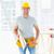 masculino · carpinteiro · edifício · retrato - foto stock © wavebreak_media