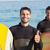 adam · sörf · plaj · mutlu · spor - stok fotoğraf © wavebreak_media