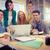 ernstig · zakenman · creatieve · kantoor · zijaanzicht - stockfoto © wavebreak_media