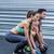 musculaire · couple · balle · exercice · homme · santé - photo stock © wavebreak_media
