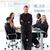 empresário · dobrado · brasão · apresentação · jovem · negócio - foto stock © wavebreak_media