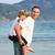pai · filho · piggyback · ao · ar · livre · sorridente · família - foto stock © wavebreak_media