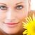 retrato · positivo · mulher · jovem · massagem · tabela · estância · termal - foto stock © wavebreak_media