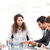 Business team working together around a table during a meeting  stock photo © wavebreak_media