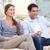 Couple watching TV in their living room stock photo © wavebreak_media