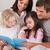 портрет · семьи · чтение · книга · спальня · домой - Сток-фото © wavebreak_media