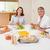 gülen · aile · akşam · yemeği · birlikte · gülümseme · erkek - stok fotoğraf © wavebreak_media