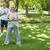 портрет · пожилого · пару · фитнес · парка · счастливым - Сток-фото © wavebreak_media