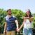 pár · szeretet · gyönyörű · nyár · park · kéz · a · kézben - stock fotó © wavebreak_media