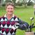 happy golfer beside his golf buggy stock photo © wavebreak_media