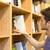 könyvespolcok · fotó · modern · könyvtár · főiskola · egyéb - stock fotó © wavebreak_media
