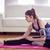 行使 · ホーム · 美しい · 筋肉の · 少女 · トレーニング - ストックフォト © wavebreak_media