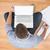 young creative businessman working on laptop stock photo © wavebreak_media