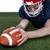 americano · futbolista · casco · azul · retrato - foto stock © wavebreak_media