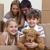 wenig · Junge · Mädchen · Umzug · Eltern · glücklich - stock foto © wavebreak_media