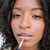 mooie · lipgloss · schoonheid · Blauw · Rood · kleur - stockfoto © wavebreak_media