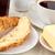 ontbijt · croissant · boter · binnenshuis · hotel · beker - stockfoto © wavebreak_media