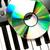 コンパクトディスク · カラフル · cd · 孤立した · 白 · 音楽 - ストックフォト © wavebreak_media