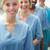 bakıyor · kamera · gülen · hastane · tıbbi - stok fotoğraf © wavebreak_media