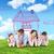 семьи · травой · поле · облака · небе · дома · икона - Сток-фото © wavebreak_media