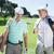 hombre · golf · bolsa · hierba · deporte · ejercicio - foto stock © wavebreak_media