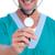 sorridente · médico · estetoscópio · branco - foto stock © wavebreak_media