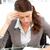 bezorgd · zakenvrouw · werken · tabel · kantoor · computer - stockfoto © wavebreak_media
