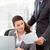 красивый · менеджера · бумаги · деловая · женщина · рабочих - Сток-фото © wavebreak_media