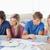 Gruppe · Studenten · helfen · andere · heraus · Hausaufgaben - stock foto © wavebreak_media