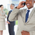 Manager · lachen · Telefon · Team · Büro · Lächeln - stock foto © wavebreak_media