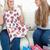 пару · улыбаясь · девочек · диване · новых · одежды - Сток-фото © wavebreak_media