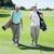 ゴルファー · 友達 · 徒歩 · ゴルフコース · 男 - ストックフォト © wavebreak_media