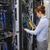 技術者 · デジタル · ケーブル · サーバー · データセンター - ストックフォト © wavebreak_media