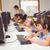 geconcentreerde · leerlingen · kind · groep · schrijven - stockfoto © wavebreak_media