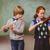 aranyos · játszik · hegedű · osztályterem · általános · iskola · zene - stock fotó © wavebreak_media