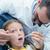 férfi · fogorvos · megvizsgál · lányok · fogak · fogorvosok - stock fotó © wavebreak_media