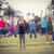 счастливым · спортивный · прыжки · вместе · человека - Сток-фото © wavebreak_media