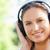 Frau · Musik · hören · Freien · Sport · Lifestyle · Sport - stock foto © wavebreak_media