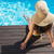 mooie · vrouw · zwembad · portret · mooie · jonge · vrouw - stockfoto © wavebreak_media