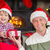 Portrait of smiling father and son at christmas stock photo © wavebreak_media