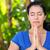 relaxed woman doing yoga stock photo © wavebreak_media