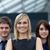 mooie · zakenvrouw · leidend · team · blond · kantoor - stockfoto © wavebreak_media