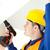 zajęty · elektryk · moc · plan · pracy - zdjęcia stock © wavebreak_media
