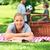 outdoor · lifestyle · mensen · gelukkig · gezin · vader · zoon · spelen - stockfoto © wavebreak_media