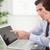 менеджера · указывая · что-то · секретарь · ноутбук · служба - Сток-фото © wavebreak_media