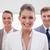 marketing · manager · permanente · team · achter · vergadering - stockfoto © wavebreak_media