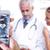 молодые · врачи · указывая · два · медицинской - Сток-фото © wavebreak_media