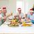 Family toasting wine while having Christmas meal stock photo © wavebreak_media