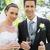 ブライダル · カップル · 見える · 家族 · 結婚式 · 犬 - ストックフォト © wavebreak_media